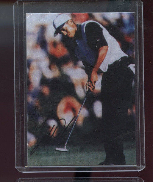 Rookies Coupons: 1997 Sports Weekly Promo #12 Tiger Woods ROOKIE Golf Card